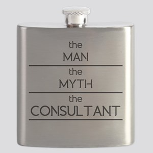 The Man The Myth The Consultant Flask