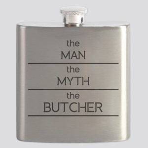 The Man The Myth The Butcher Flask