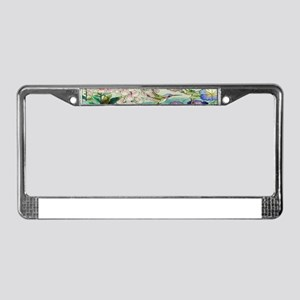 stainedglass73 License Plate Frame