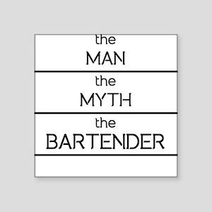 The Man The Myth The Bartender Sticker