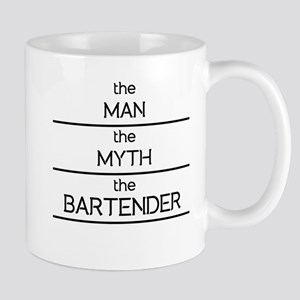 The Man The Myth The Bartender Mugs