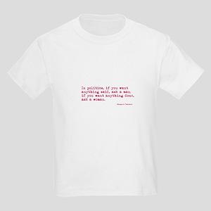 Ask a Woman Kids Light T-Shirt