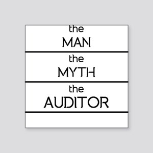 The Man The Myth The Auditor Sticker