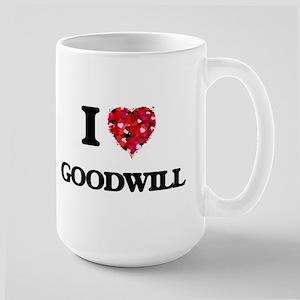 I love Goodwill Mugs