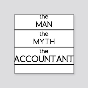 The Man The Myth The Accountant Sticker