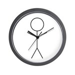 Stick Figure Wall Clock