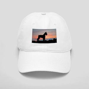 Schnauzer Sunset Cap