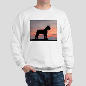 Schnauzer Sunset Sweatshirt