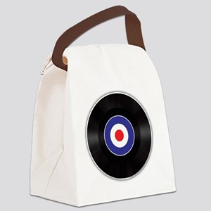 The Mod Beat Canvas Lunch Bag