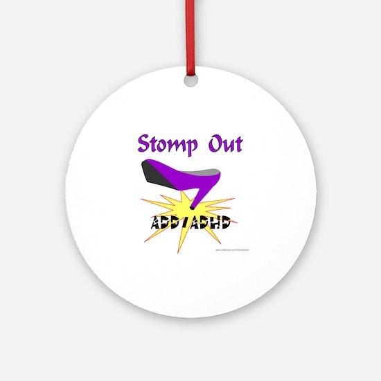 ADD/ADHD AWARENESS Ornament (Round)
