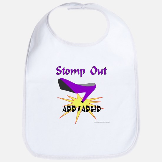 ADD/ADHD AWARENESS Bib