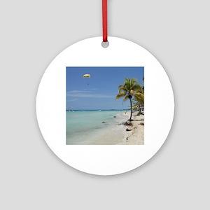 Negril Beach Jamaica Ornament (Round)
