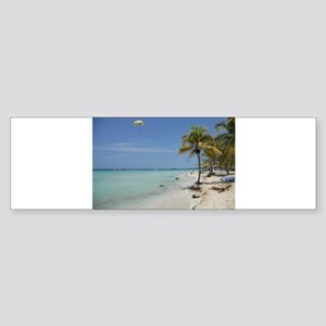 Negril Beach Jamaica Bumper Sticker