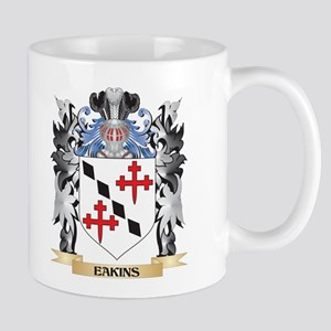 Eakins Coat of Arms - Family Crest Mugs