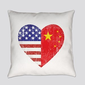 Joined at the Heart_C Everyday Pillow
