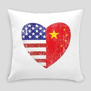 Family Heart_C Everyday Pillow