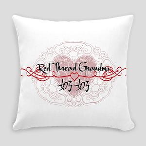 RedThreadPGrandmaP Everyday Pillow