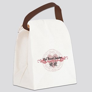 RedThreadMGrandmaP Canvas Lunch Bag