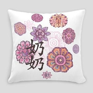 P_Grandma_Flowers_C1 Everyday Pillow