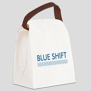 BlueShiftFTRedShiftBk Canvas Lunch Bag