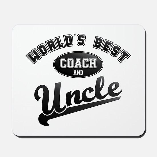 Best Coach Uncle Mousepad