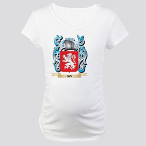 Boi Coat of Arms - Family Crest Maternity T-Shirt