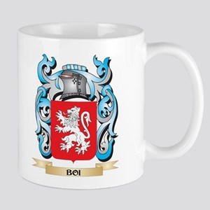 Boi Coat of Arms - Family Crest Mugs