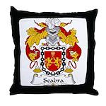 Seabra Family Crest  Throw Pillow