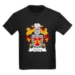 Seabra Family Crest  Kids Dark T-Shirt