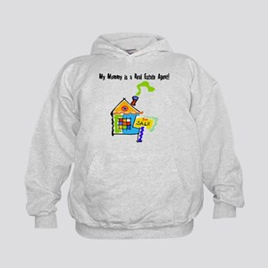 My Mommy is a Real Estate Agent Kids Hoodie