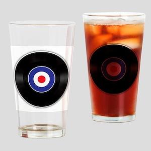The Mod Beat Drinking Glass