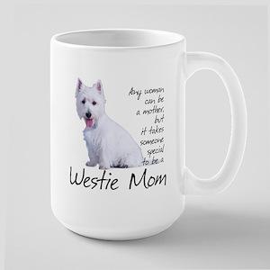 Westie Mom Stainless Steel Travel Mugs