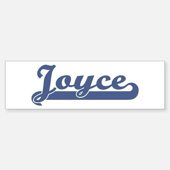 Joyce (sport-blue) Bumper Bumper Bumper Sticker