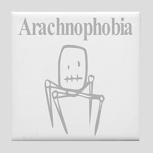 Arachnophobia Fear Of Spiders Tile Coaster