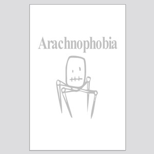 Arachnophobia Fear Of Spiders Large Poster