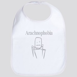 Arachnophobia Fear Of Spiders Bib