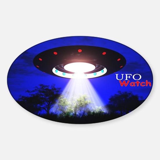 UFO Watch Decal
