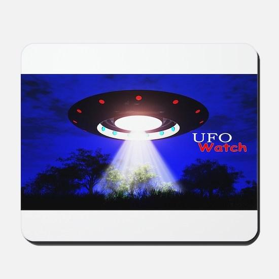 UFO Watch Mousepad