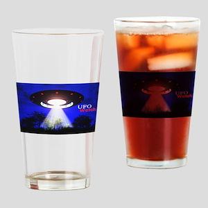 UFO Watch Drinking Glass