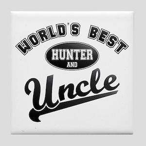 Best Hunter Uncle Tile Coaster