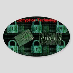 Encryption Technology Sticker