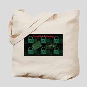 Encryption Technology Tote Bag