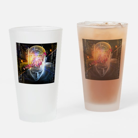 Artificial Intelligence Drinking Glass