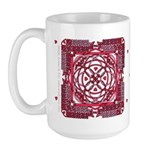 Celtic Valentine Large Mug