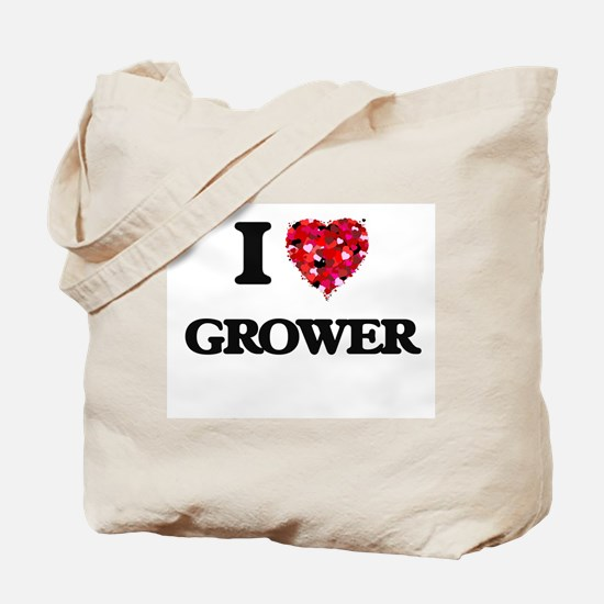 I love Grower Tote Bag