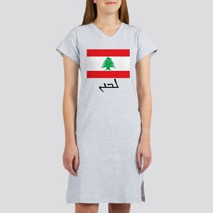 Lebanon - Syriac DS Women's Nightshirt