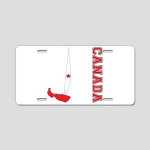 Sailing Canada Aluminum License Plate