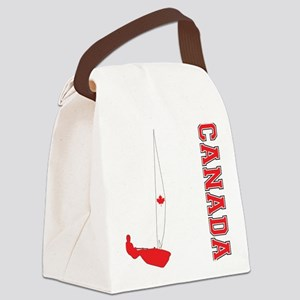 Sailing Canada Canvas Lunch Bag