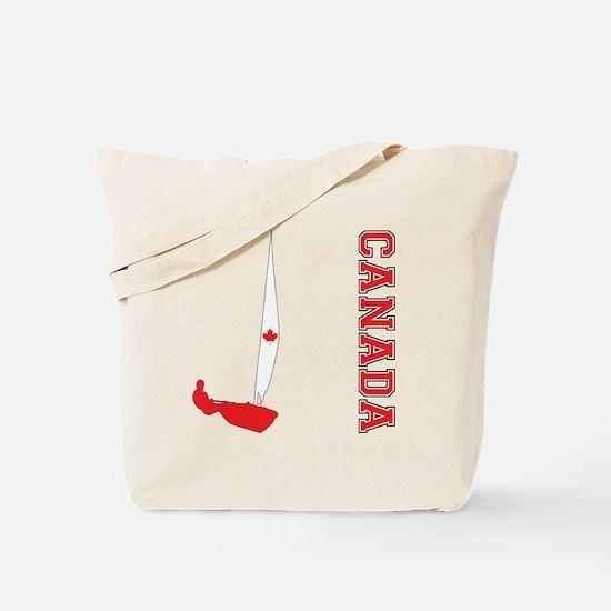 Sailing Canada Tote Bag