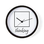 Thinking Box Wall Clock